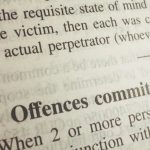 Can you be charged for an offence that you did not commit?