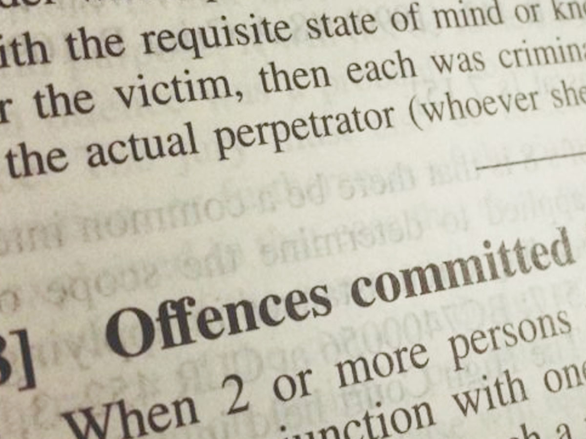 Can you be charged for an offence that you did not commit? - Russo Lawyers Brisbane Australia