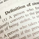 The definition of Stealing